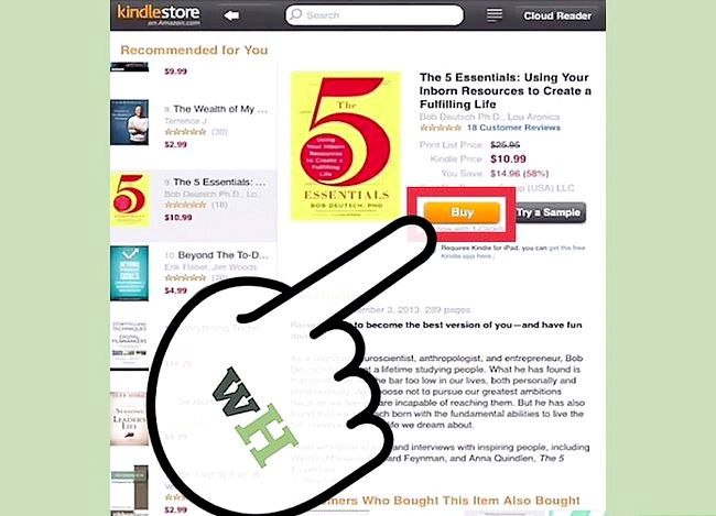 Prent titel Buy Books for Your Kindle Stap 11