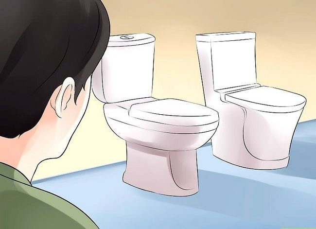 Prent getiteld Koop `n toilet Stap 1