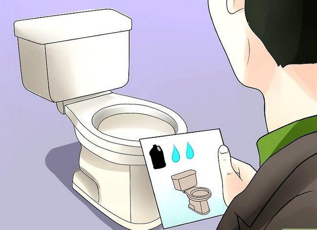 Prent getiteld Koop `n toilet Stap 8