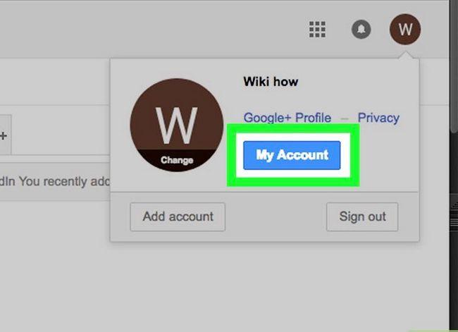 Prent getiteld Kyk of jou Gmail-rekening stap 3 is