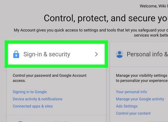Prent getiteld Kyk of jou Gmail-rekening stap 4 is haak
