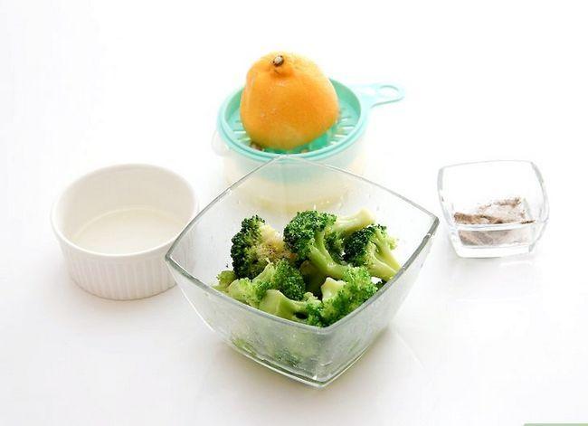 Prent getiteld Season Broccoli Stap 15
