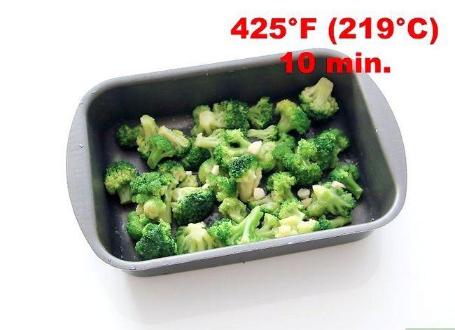 Prent getiteld Season Broccoli Stap 6