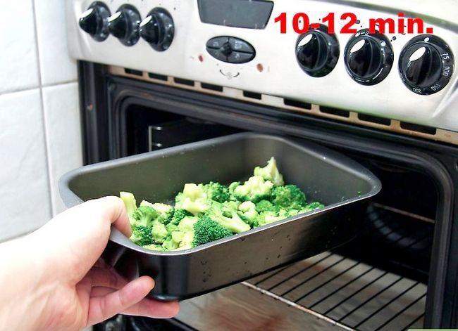 Prent getiteld Seisoen Broccoli Stap 8