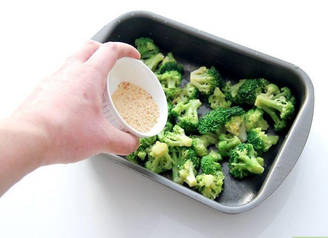 Prent getiteld Seisoen Broccoli Stap 10