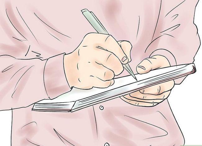 Prent getiteld Doen effektiewe ontmoetings Stap 1