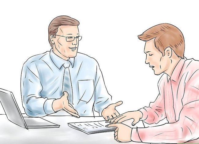 Prent getiteld Doen effektiewe ontmoetings Stap 4