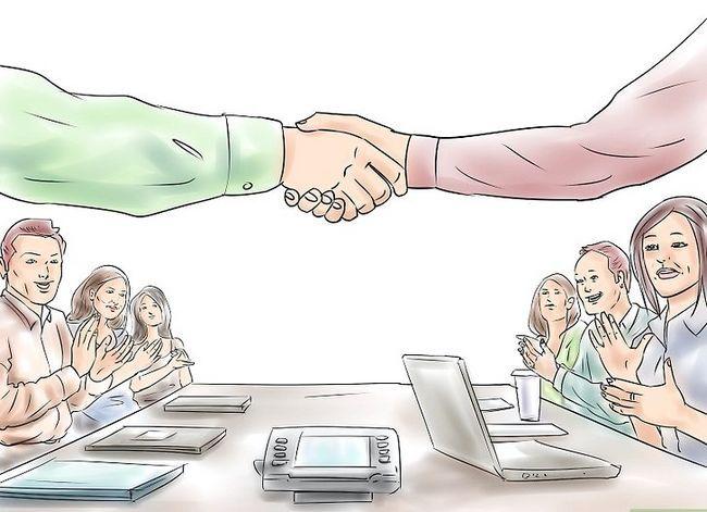 Prent getiteld Doen effektiewe ontmoetings Stap 6