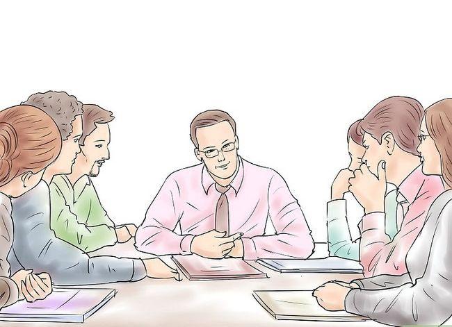 Prent getiteld Doen effektiewe ontmoetings Stap 2