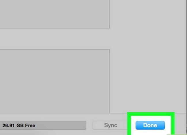 Prent getiteld Sluit `n iPad aan op iTunes Stap 7