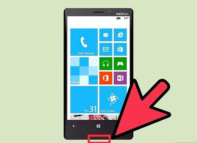 Prent getiteld Sluit Lumia 820 na PC Stap 2
