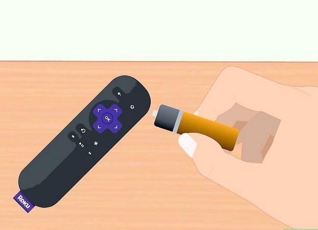 Prent getiteld Sluit Roku aan op TV Stap 7