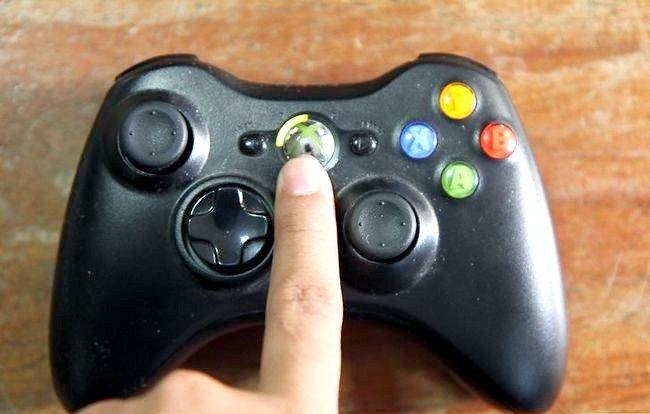 Prent getiteld Hook up `n Xbox 360 Stap 6