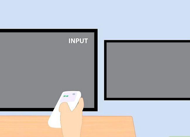 Prent getiteld Sluit twee TV`s aan op Xbox Stap 5