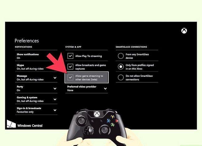 Prent getiteld Sluit twee TV`s aan op Xbox Stap 9
