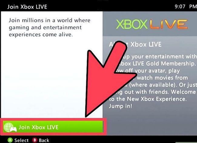Prent getiteld Hook Up Xbox 360 Live Stap 8