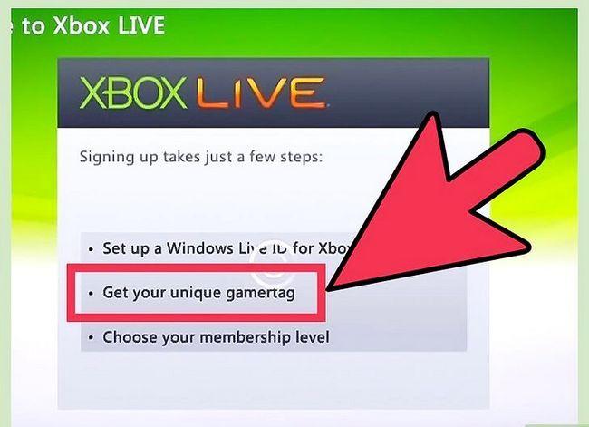 Prent getiteld Hook Up Xbox 360 Live Stap 9
