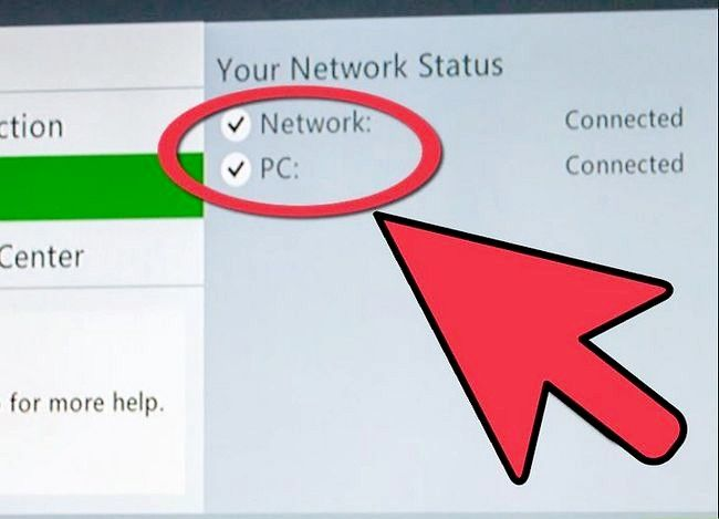 Prent getiteld Koppel aan Xbox Live via `n Wireless PC Stap 9