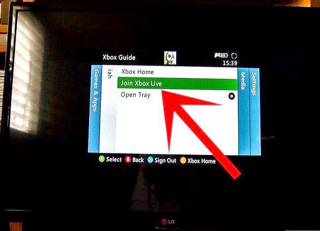 Prent getiteld Word verbind met Xbox Live Stap 5
