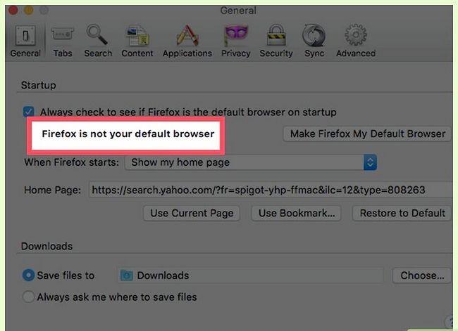 Prent getiteld Stel Mozilla Firefox as jou verstek blaaier Stap 13