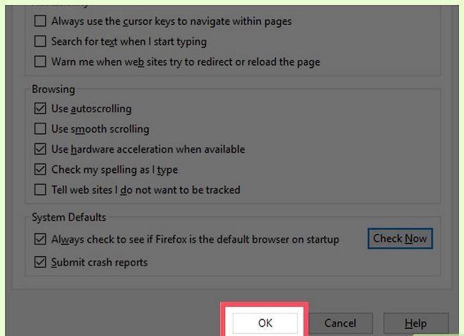 Prent getiteld Stel Mozilla Firefox as jou verstek blaaier Stap 22
