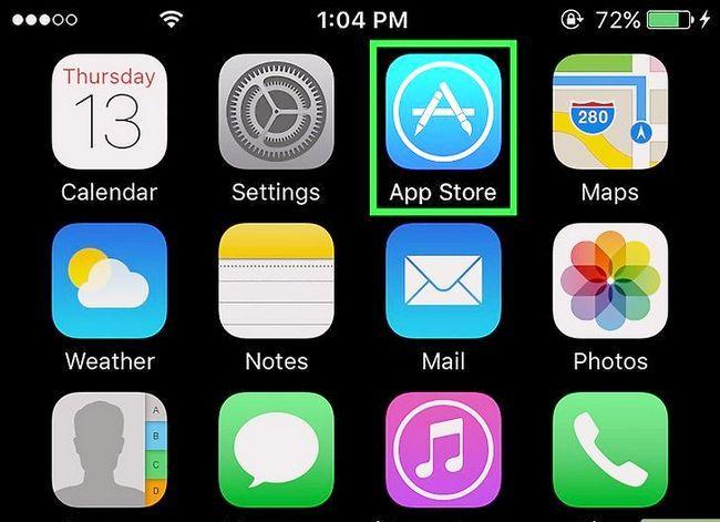 Prent getiteld Stel Gmail op `n iPhone Stap 12 op