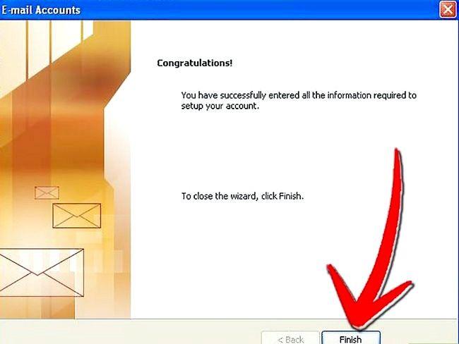 Prent getiteld Stel Microsoft Outlook Stap 11 op