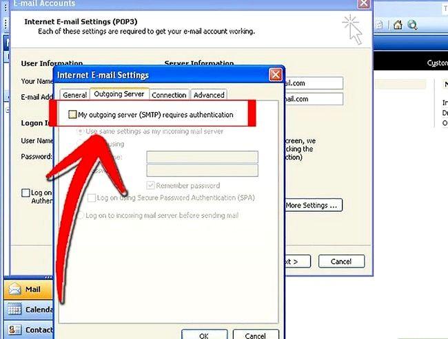 Prent getiteld Stel Microsoft Outlook Stap 7 op