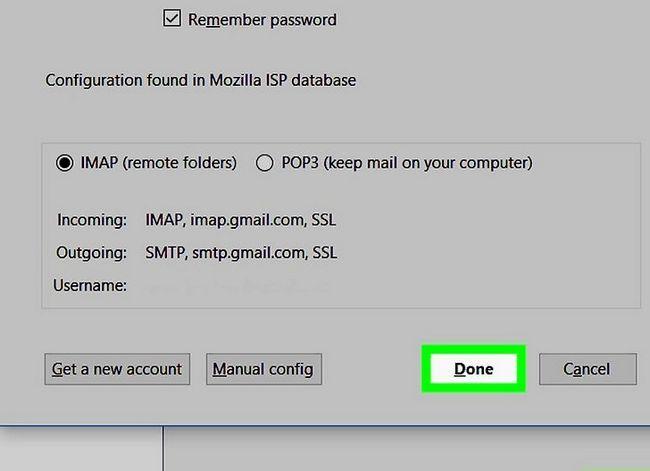 Prent getiteld Stel Mozilla Thunderbird Stap 9 op