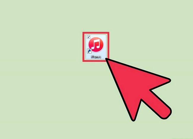 Beeld getiteld `n aparte iTunes-rekening instel Stap 1
