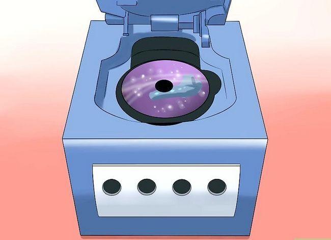 Prent getiteld Stel `n Nintendo Gamecube Stap 6 op