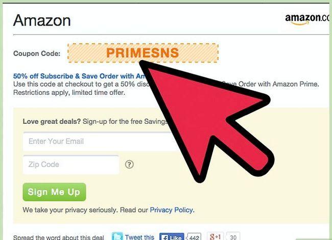 Prent getiteld Kry Amazon-promosiekodes Stap 14
