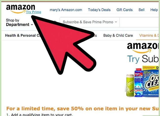 Prent getiteld Kry Amazon-promosiekodes Stap 15