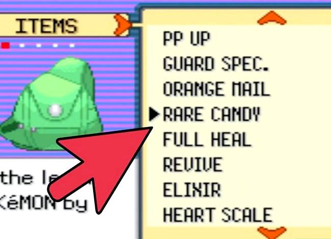Prent getiteld Kry HM Rock Smash in Pokémon Emerald Step 3