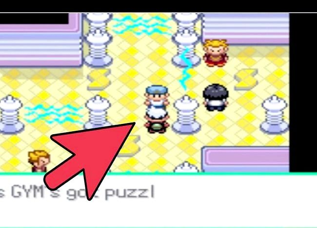 Prent getiteld Kry HM Rock Smash in Pokémon Emerald Step 8