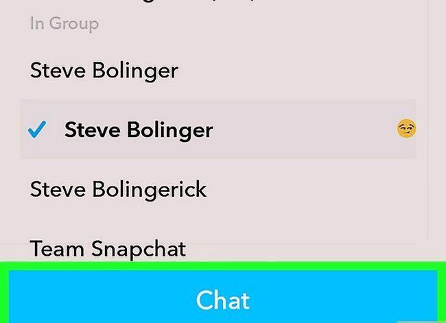 Prent getiteld Kry Friendmojis op Snapchat op Android Stap 12