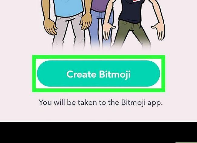 Prent getiteld Kry Friendmojis op Snapchat op Android Stap 5