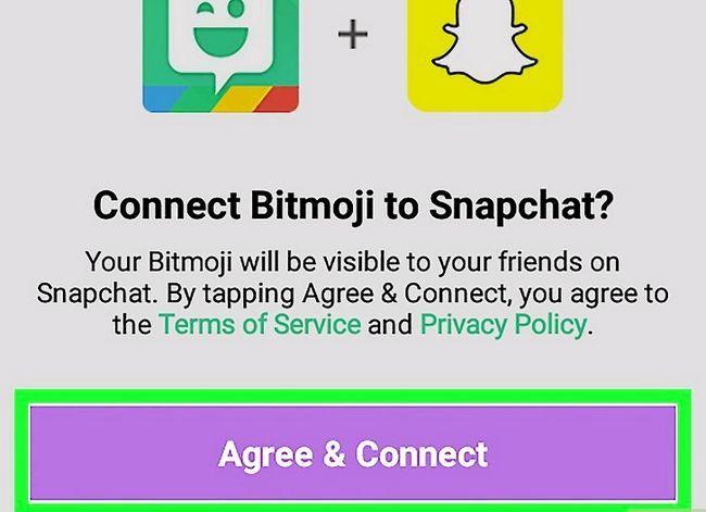 Prent getiteld Kry Friendmojis op Snapchat op Android Stap 6