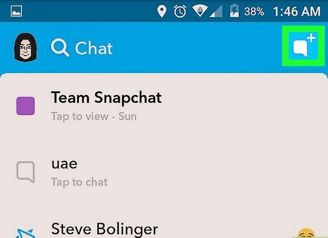 Prent getiteld Kry Friendmojis op Snapchat op Android Stap 10