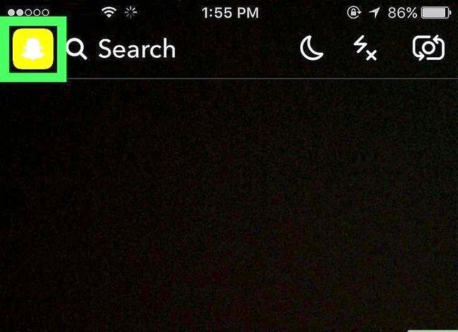 Prent getiteld Kry Friendmojis op Snapchat op iPhone of iPad Stap 2