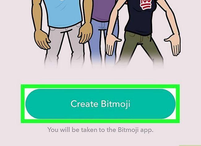 Prent getiteld Kry Friendmojis op Snapchat op iPhone of iPad Stap 4