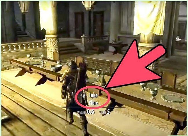 Prent getiteld Kry die Ebony Blade in Skyrim Stap 1