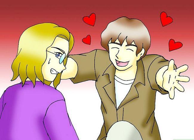 Prent getiteld Get Girls Flirt With You Stap 12