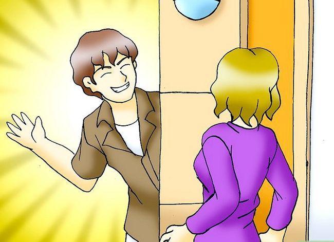 Prent getiteld Get Girls Flirt With You Stap 10