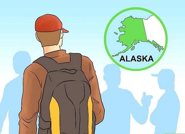 Prent titel Get a Fishing Job in Alaska Stap 8