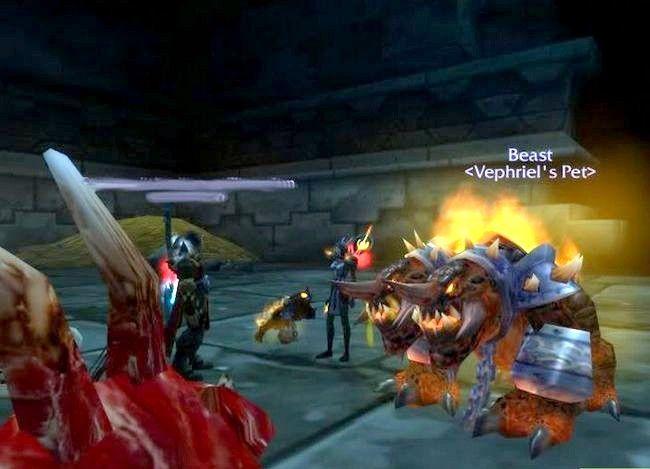 Prent getiteld Kry `n troeteldier in World of Warcraft Stap 4