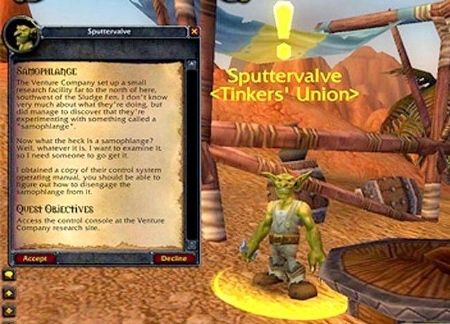 Prent getiteld Kry `n troeteldier in World of Warcraft Stap 5