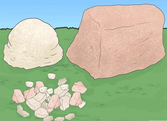 Prent getiteld Bou `n rotstuin met onkruidvoorkoming Stap 6