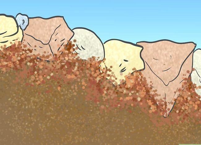 Beeld getiteld Bou `n rotstuin met onkruidvoorkoming Stap 8