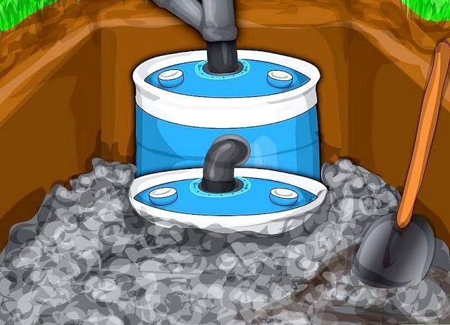 Prent getiteld Konstrueer `n klein septiese stelsel Stap 26